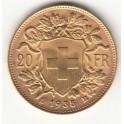 Goldmünze 20 Franken Vreneli