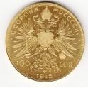 Goldmünze 100 Ö Kronen