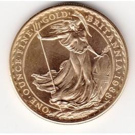 Goldmünze 1 Unze 100 Pound Britannia