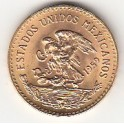 Goldmünze 20 Pesos 1/2 Unze