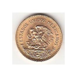 Goldmünze 20 Pesos Mexico