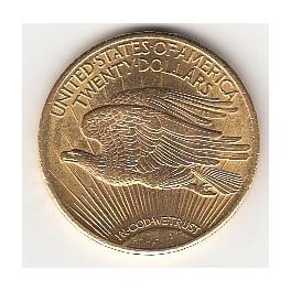 Goldmünze 20 Dollar St Gaudens Double Eagle Scheideanstaltkade