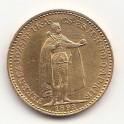 Goldmünze Ungarn 20 Kronen 1893