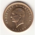 100 Piaster Türkei Goldmünze Atatürk