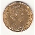 Goldmünze 10 Gulden König Willem De Derde