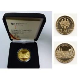 100 Euro Gold Welterbe Altstadt Goslar