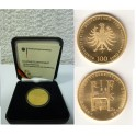 100 Euro Gold Weltkulturerbe Quedlinburg mit Box und Zertifikat
