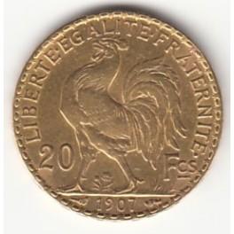 20 Francs Hahn/Marianne
