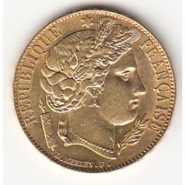 20 Francs Ceres
