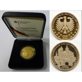 100 Euro Gold Unesco Welterbe Trier