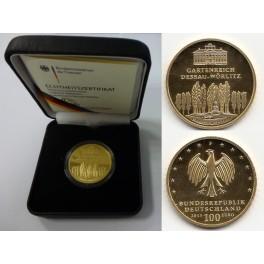 100 Euro Gold Dessau-Wörlitz