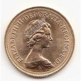 Goldmünze Sovereign Elizabeth II