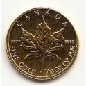 1/10 OZ 5 CAD Maple Leaf