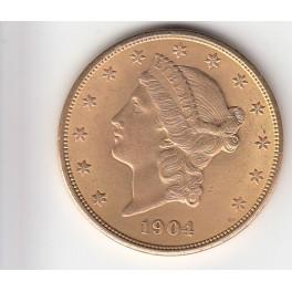 Goldmünze 20 Dollar  Liberty Head