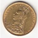 Goldmünze 1 Sovereign Victoria  Jubilee  Head m Krone