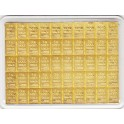 goldbarren 50 mal 1 gramm