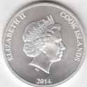 Cook Island 1 Unze Silber 1 Dollar