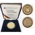 100 Euro Gold Einführung des Euros mit Box und Zertifikat