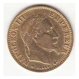 10 Franc Napoleon III