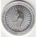 Australien Kangaroo 1 Unze Silver 2016