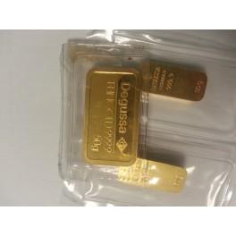 50 gr Goldbarren  2 ter Hand  Degussa Umicore