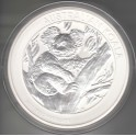 1 kilo Silbermünze Kookaburra