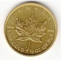 1/2 OZ 20 CAD Maple Leaf