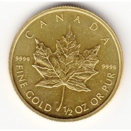 1/2 OZ 20 CAD Maple Leaf