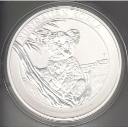 1 kilo Silbermünze Koala 2015