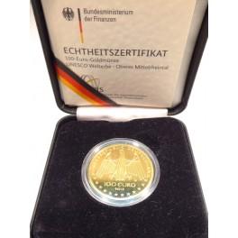 100 Euro Gold   Oberes Mittelrheintal D