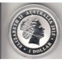 1 Dollar Kookaburra 1990-2015 1 Unze Jubiläum