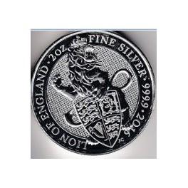 2 Unzen Fine Silver 5 Pound England