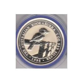 1 Unze Kookaburra 1998