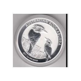 1 Unze Kookaburra 2017