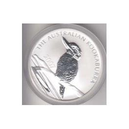 1 Unze Kookaburra 2007