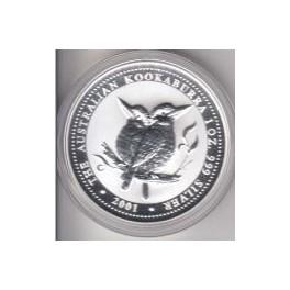 1 Unze Kookaburra 2001