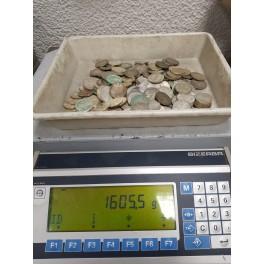1 Kilo Feinsilber Umlaufmünzen aus Deutschland und Frankreich etc.
