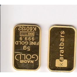 5 Gramm Goldbarren Nadir Resale
