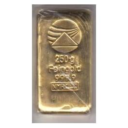 250 gr Goldbarren PIM mi Zertifikat