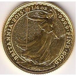 Goldmünze 1/4 Unze 25 GBP Britannia 1988 und 2020