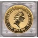 Goldmünzen 200 Dollar 2 Unzen Australien Nugget