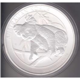 1 kilo Silbermünze Koala 2018