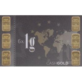1 gramm Goldbarren  999,9 Feingold verschiedene Hersteller