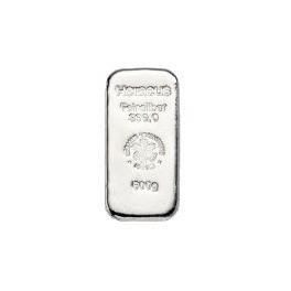 500 Gramm Silberbarren Heraeus Neuware