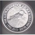 1 Kilo Silbermünze Kookaburra 1990 -  2015