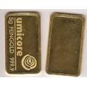 5 gramm Goldbarren Umicore Feingold