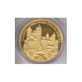 100 Euro Dom zu Speyer mit Box und Zertifikat