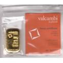100 gramm Goldbarren Resale Valcambi mit Zertifikat