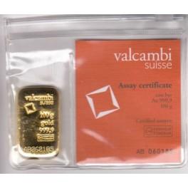 100 Gramm Goldbarren Valcambi