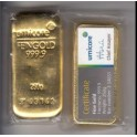 250 Gramm Goldbarren Umicore mit Zertifikat